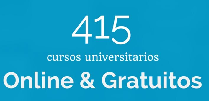 + de 400 cursos universitarios, online y gratuitos