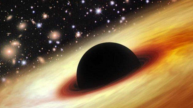 Se descubrió un agujero negro 12.000 millones mayor que el sol.