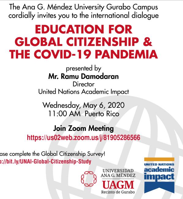 Educación para la Ciudadanía Global en tiempos del COVID 19 - In