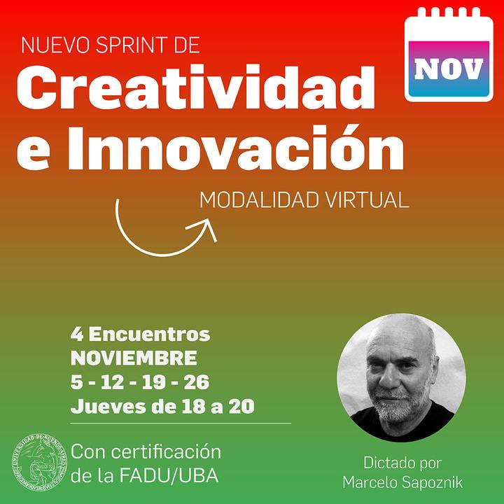 SPRINT de Creatividad en Innovación!